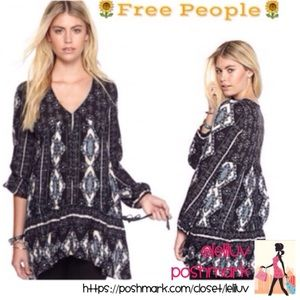 FREE PEOPLE • Voile by the Bay tunic